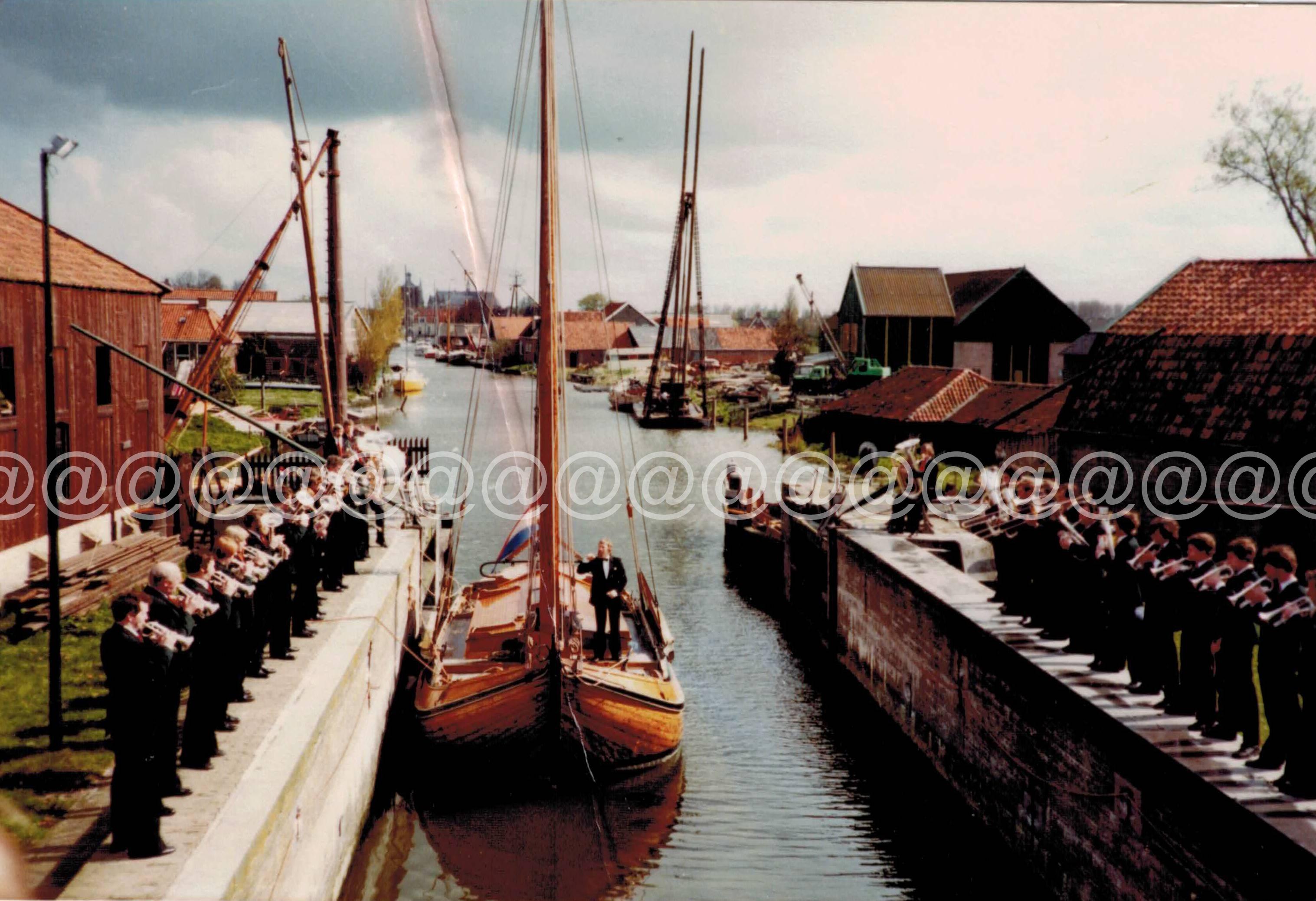 1981 Crescendo Workum Promotie foto