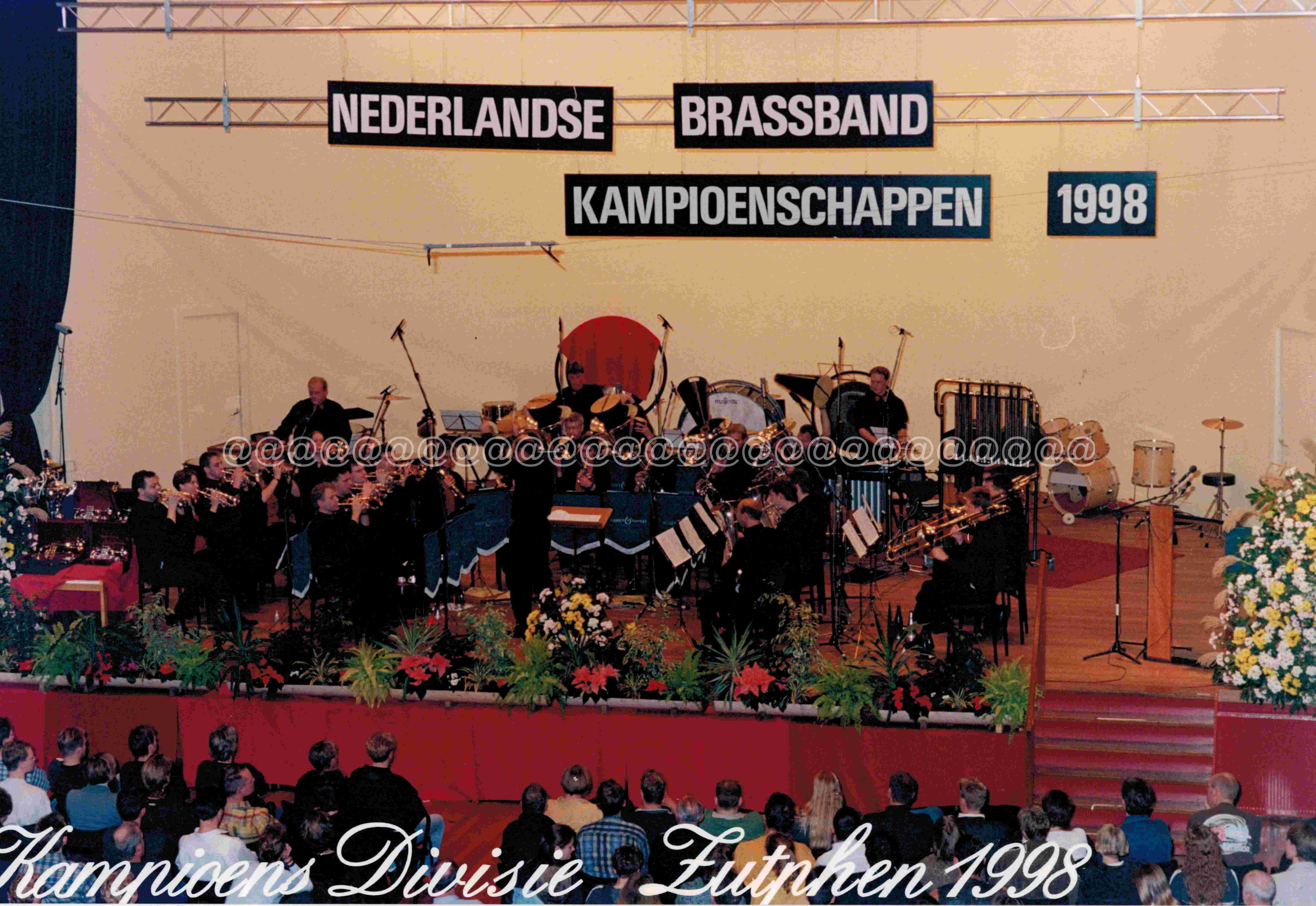1998 De Bazuin Oenkerk olv Klaas vd Woude NBK