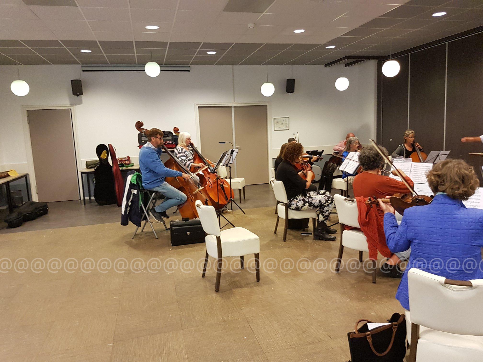 2020 Fries Symfonie Orkest Repetitie