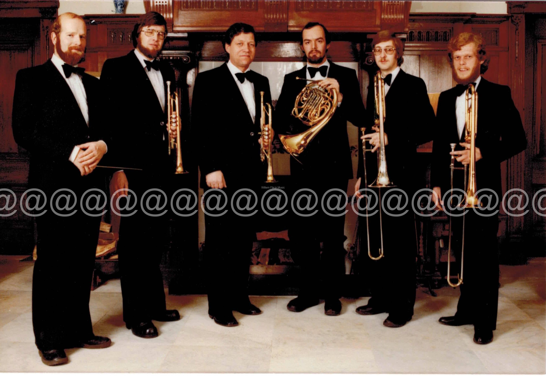 1978 Sweelinck Brass Ensemble olv Henk Oosterhuis