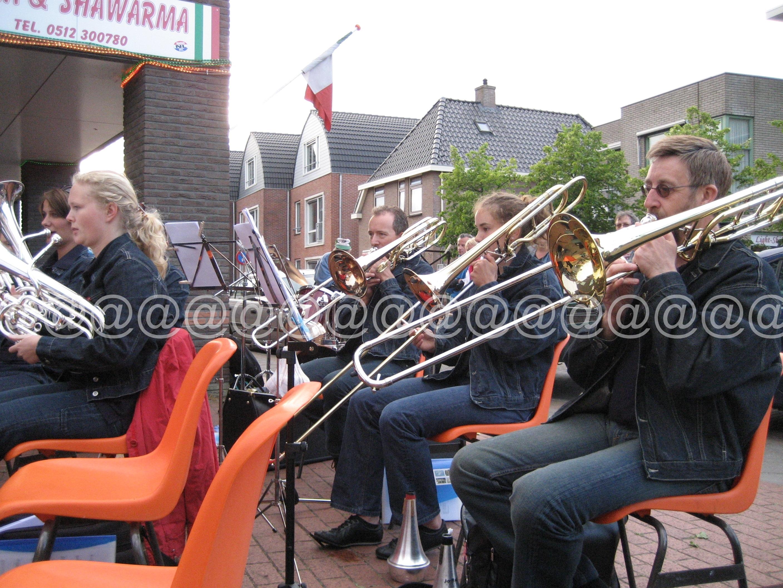 2008 Spijkerpakkenband - optreden in Ureterp