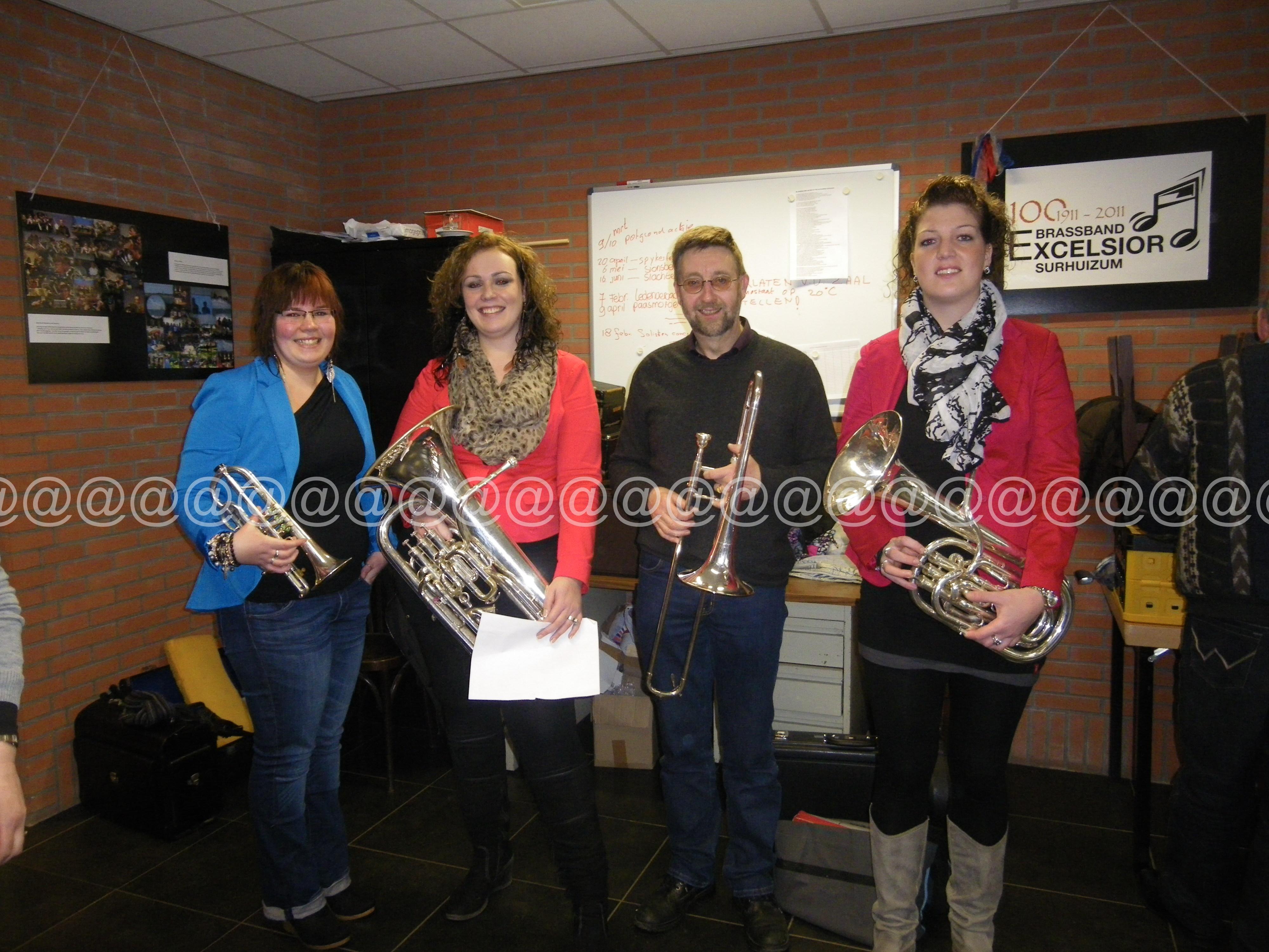 2012 Brassband Excelsior - Solistenconcours